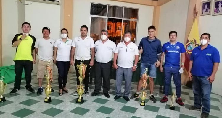 CAMPEONATO DE INDOR DESARROLLADO EN LA PARROQUIA SARACAY